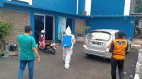 Berita Banten, Berita Serang Terbaru, Berita Serang Hari ini, Berita PWI Banten: Sekretariat PWI Banten Disemprot Disinfektan