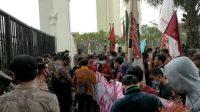 Berita Banten, Berita Banten Terbaru, Berita Banten Hari Ini, Berita Serang, Berita Serang Terbaru, Berita Serang Hari Ini: Setelah Kejati, Ratusan Mahasiswa Gerudug KP3B