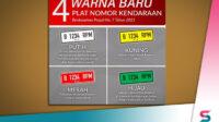 Berita Banten, Berita Banten Terbaru, Berita Banten Hari Ini, Berita Serang, Berita Serang Terbaru, Berita Serang Hari Ini: Kenali 4 Warna Baru Plat Nomor Kendaraan