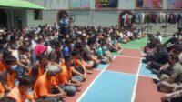 Berita Banten, Berita Banten Terbaru, Berita Banten Hari Ini, Berita Serang, Berita Serang Terbaru, Berita Serang Hari Ini: Ratusan Tahanan di Serang Gelar Doa Bersama untuk Korban Kebakaran Lapas Tangerang