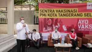 Berita Banten, Berita Banten Terbaru, Berita Banten Hari Ini, Berita Tangsel, Berita Tangsel Terbaru, Berita Tangsel Hari Ini: Benyamin Sebut Tangsel sebagai Kota Terbesar Kedua dalam Vaksinasi di Banten