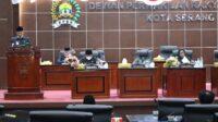 Berita Banten, Berita Banten Terbaru, Berita Banten Hari Ini, Berita Serang, Berita Serang Terbaru, Berita Serang Hari Ini: Pemkot dan DPRD Kota Serang Setujui Raperda APBD Perubahan TA 2021
